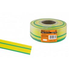 Термоусаживаемая трубка ТУТнг 25/12,5 желто-зеленая (50 м/ролл) | SQ0518-0066 | TDM