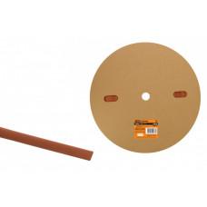 Термоусаживаемая трубка ТУТнг 6/3 красная (100 м/ролл) | SQ0518-0005 | TDM