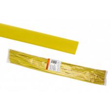 Термоусаживаемая трубка ТУТнг 10/5 желтая по 1м (50 м/упак)   SQ0518-0216   TDM