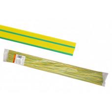Термоусаживаемая трубка ТУТнг 14/7 желто-зеленая по 1м (50 м/упак) | SQ0518-0231 | TDM