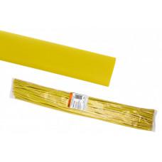 Термоусаживаемая трубка ТУТнг 30/15 желтая по 1м (25 м/упак)   SQ0518-0279   TDM