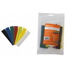 Термоусаживаемая трубка ТУТнг 14/7 набор (7 цветов по 3 шт. 100мм) | SQ0518-0507 | TDM