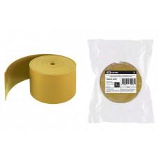 Лента термоусаживаемая, желтая ЛТИк-10-50х5000-Ж | SQ0567-0002 | TDM