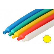 Трубка термоусаживаемая ТУТнг-10/5 желтая (100м/рул) | 66004 | КВТ