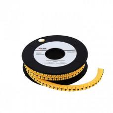 Маркер-кабельный 6,0кв.мм