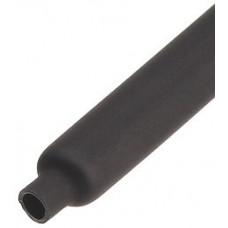 Трубка термоусаживаемая ТУТнг 16/8 черная (100м/рул) | 60092 | КВТ