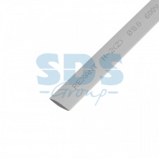 Термоусадка 8,0 / 4,0 мм, серая (упак. 50 шт. по 1 м) | 20-8010 | REXANT