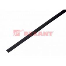 Термоусадка 8,0 / 4,0 мм, черная (упак. 50 шт. по 1 м) | 20-8006 | REXANT