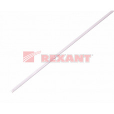 Термоусадка 25,0 / 12,5 мм, белая (упак. 10 шт. по 1 м) | 22-5001 | REXANT