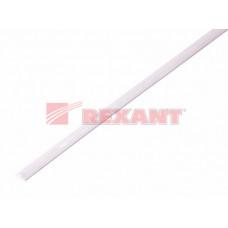 Термоусадка 3,5 / 1,75 мм, белая (упак. 50 шт. по 1 м) | 20-3501 | REXANT