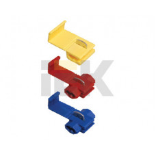 Зажим-ответвитель ЗПО-1 2,5-6,0 мм2 желтый (25 шт)   UMY-10-3-25   IEK