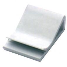 Клипса самоклеящаяся для плоского кабеля, белая, 30х26х9,6   2AFC-30   DKC