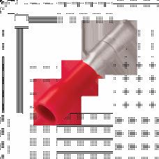 Разъем-штекер РшИп 1,25-4 (100шт.) EKF PROxima | rhip-1,25-4 | EKF