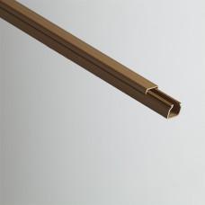 Кабель-канал 16х16х2000мм (коричневый) | РКК-16х16-К | Рувинил