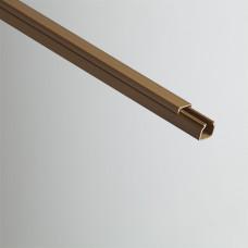 Кабель-канал 12х12х2000мм (коричневый) | РКК-12х12-К | Рувинил