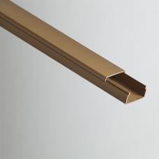 Кабель-канал 32х16х2000мм (коричневый) | РКК-32х16-К | Рувинил