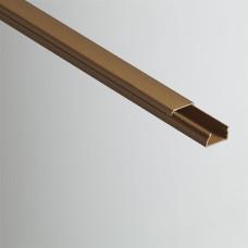 Кабель-канал 20х10х2000мм (коричневый) | РКК-20х10-К | Рувинил