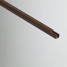Кабель-канал 12х12х2000мм (дуб на темной основе) | РКК-12х12-08М | Рувинил