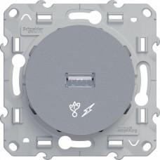 Odace Алюминий Розетка USB | S53R408 | Schneider Electric
