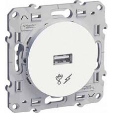 Odace Белый Розетка USB | S52R408 | Schneider Electric