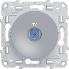 Odace Алюминий Розетка TV | S53R445 | Schneider Electric