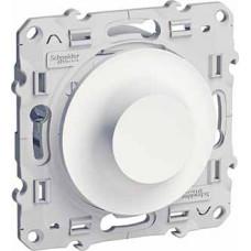 Odace Белый Светорегулятор поворотный универсальный 20-420Вт | S52R515 | Schneider Electric