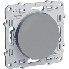 Odace Алюминий Выключатель кнопочный 1-клавишный | S53R206 | Schneider Electric