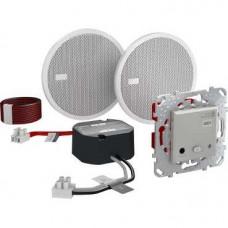 Unica TOP Алюминий Аудиосистема Bluetooth | MGU70.566.30 | Schneider Electric