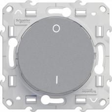 Odace Алюминий Выключатель 2-полюсный 16А | S53R262 | Schneider Electric
