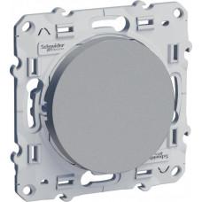 Odace Алюминий Выключатель 1-клавишный | S53R201 | Schneider Electric