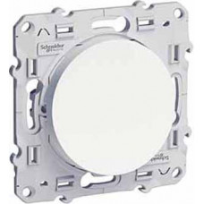 Odace Белый Выключатель 1-клавишный | S52R201 | Schneider Electric