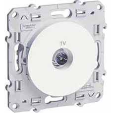 Odace Белый Розетка TV | S52R445 | Schneider Electric