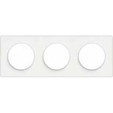 Odace Белый Рамка 3-ая | S52P806 | Schneider Electric
