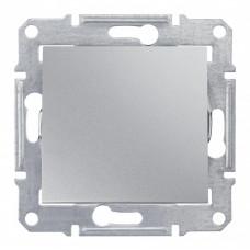 Sedna Алюминий Выключатель 1-клавишный 2-полюсный 10A, IP44 (сх.2) | SDN0200360 | Schneider Electric