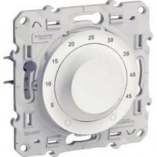 Odace Белый Регулятор теплого пола с внешним датчиком 10А | S52R507 | Schneider Electric