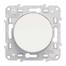 Odace Белый Переключатель 1-клавишный | S52R203 | Schneider Electric