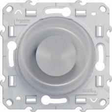 Odace Алюминий Светорегулятор поворотный 40-600Вт | S53R511 | Schneider Electric