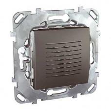 Unica TOP Графит Звонок электронный, 70DB/1M | MGU5.786.12ZD | Schneider Electric