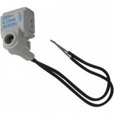 Odace Синий Модуль LED проводной 0,15мА 250В | S52R291 | Schneider Electric
