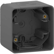 MUREVA S, 1-ПОСТОВОЙ БОКС для накл. монтажа, АНТРАЦИТ, IP55   MUR37911   Schneider Electric