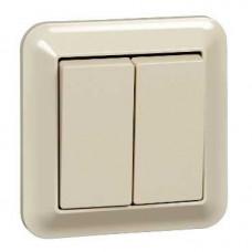 2 клавишный вык-ль, беж | MTN3115-1244 | Schneider Electric