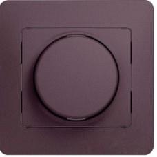 Glossa Сиреневый туман Светорегулятор (диммер) поворотный, 300Вт (в сборе) | GSL001434 | Schneider Electric