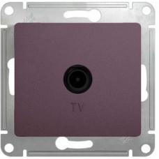 Glossa Сиреневый туман Розетка TV проходная 4DB | GSL001492 | Schneider Electric