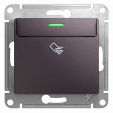 Glossa Сиреневый туман Выключатель карточный, сх.6, 10AX | GSL001469 | Schneider Electric