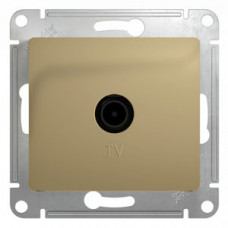 Glossa Титан TV Розетка одиночная 1DB | GSL000491 | Schneider Electric