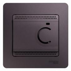Glossa Сиреневый туман Термостат электронный теплого пола с датч, от +5 до +50°C, 10A (в сборе) | GSL001438 | Schneider Electric