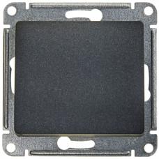 Glossa Антрацит Выключатель 1-клавишный сх.1, 10AX | GSL000711 | Schneider Electric