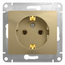 Glossa Титан Розетка с/з | GSL000443 | Schneider Electric