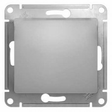 Glossa Алюминий Выключатель 1-клавишный, сх.1, 10АХ   GSL000311   Schneider Electric