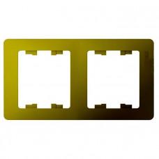 Glossa Фисташковый Рамка 2-ая, горизонтальная | GSL001002 | Schneider Electric